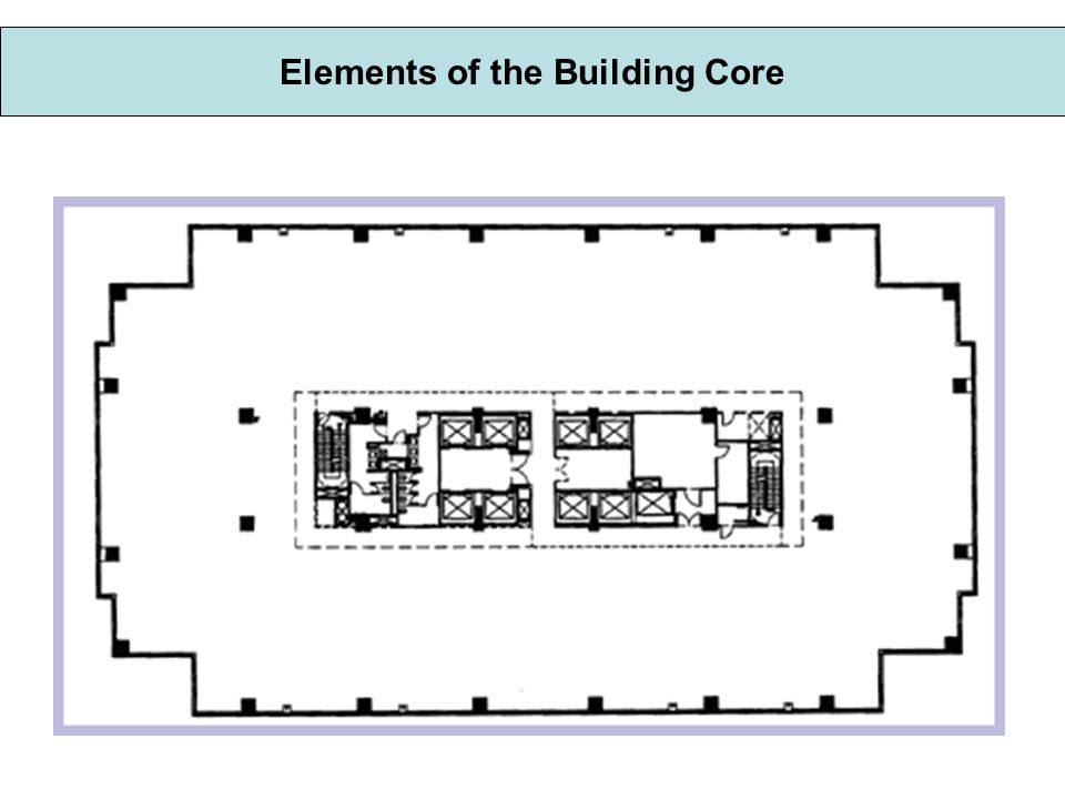Building Core in a Multi-Story